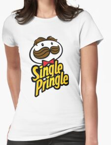 Single Pringle [Pringles Parody] Womens Fitted T-Shirt