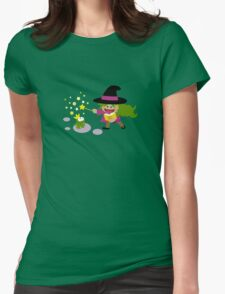 Tiny Witch Womens Fitted T-Shirt