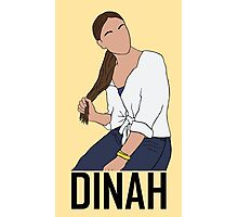 Outline of Dinah Jane Photographic Print