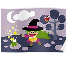 Tiny Witch Poster