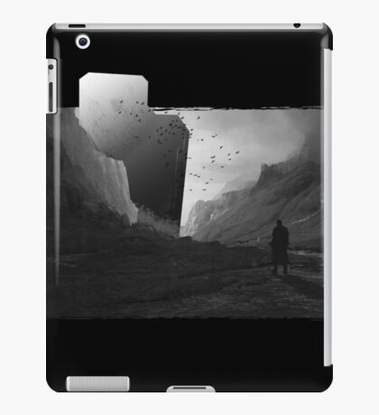 Dark light Fighter against mystery iPad Case/Skin