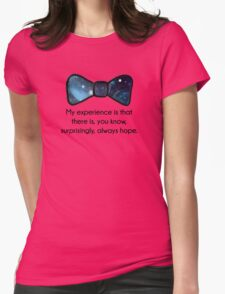 There's always hope Womens Fitted T-Shirt