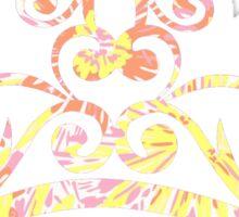 Lilly Pulitzer Inspired Tiara - Sunkissed Sticker