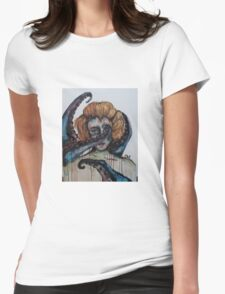 Modern Day Ursula  Womens Fitted T-Shirt