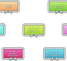 Positivity Stamp Set by protovampire