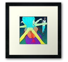 Wasting Time Framed Print