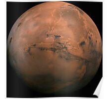 Huge Picture of Mars - Valles Marineris Poster