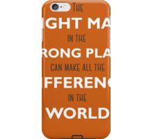 Orange Man iPhone Case/Skin