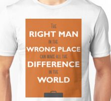 Orange Man Unisex T-Shirt
