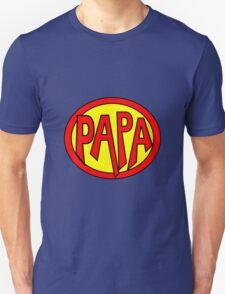 Hero, Heroine, Superhero, Super Papa T-Shirt