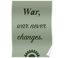 War, War never. Poster