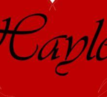 Team Hayley Sticker