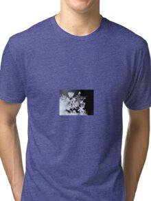 Macro Snowflake (5844) Tri-blend T-Shirt