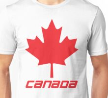 Maple Leaf - Red Unisex T-Shirt