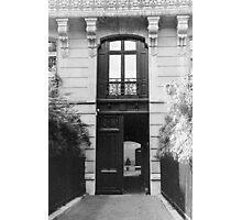 Paris Doorway  Photographic Print