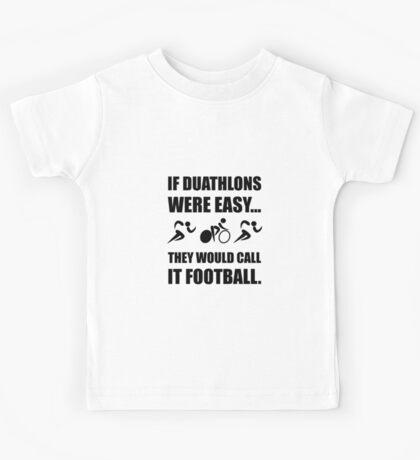 Duathlon Football Kids Tee