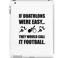 Duathlon Football iPad Case/Skin