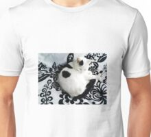Bailey on the bed Unisex T-Shirt