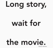 Long story - Damon Kids Tee