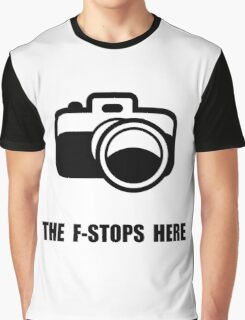 F Stop Graphic T-Shirt