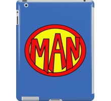Hero, Heroine, Superhero, Super Man iPad Case/Skin