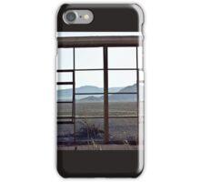 View From the Zzyzyx Baths iPhone Case/Skin