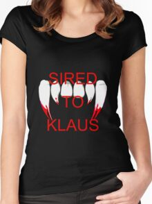 Sired to klaus Women's Fitted Scoop T-Shirt