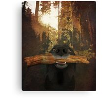 Playful Labrador Canvas Print