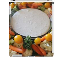 Vegetable Medley and dip iPad Case/Skin