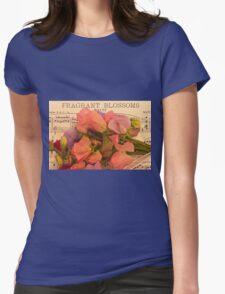 Fragrant Blossoms Womens Fitted T-Shirt