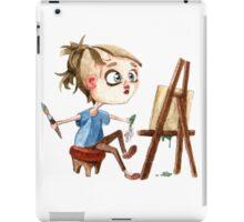 Artist at work iPad Case/Skin