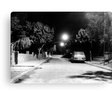Night In The Street Of Gaziantep Canvas Print