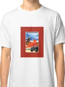 Vintage car travel Germany advert Classic T-Shirt