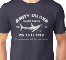 Amity Island Shark Fishing Est - 1975 Unisex T-Shirt