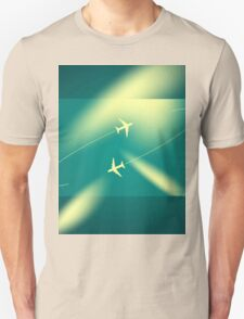 Background of flying planes T-Shirt