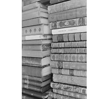 Vintage Books Photographic Print
