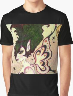 Butterfly Skies Graphic T-Shirt