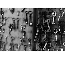 Vintage Keys Photographic Print