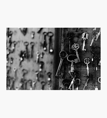 Vintage Keys Photographic Print