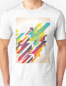 Abstract colorful business background T-Shirt