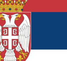 Serbia Flag T-Shirt - Serbian Republic Football Sports Team Supporter Phone Cover Sticker Duvet Sticker