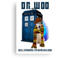 Dr woo  Canvas Print