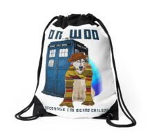 Dr woo  Drawstring Bag