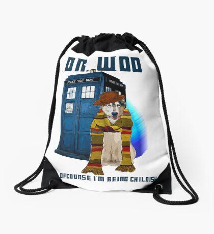 Dr woo  Drawstring Bag