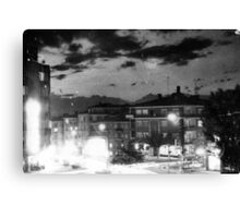 Night At The Turkish Town Canvas Print