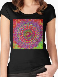 Flower Rusk Women's Fitted Scoop T-Shirt