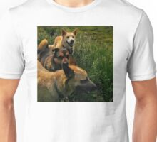 Blaze, Lily and Rose Makes Three Unisex T-Shirt