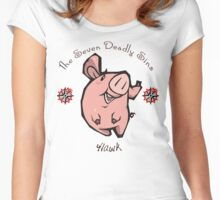 Chibi Hawk Women's Fitted Scoop T-Shirt
