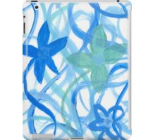 Flower Blues iPad Case/Skin