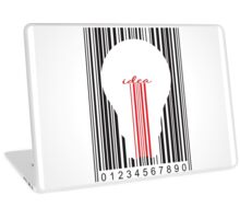 Stylish concept of idea bar code Laptop Skin